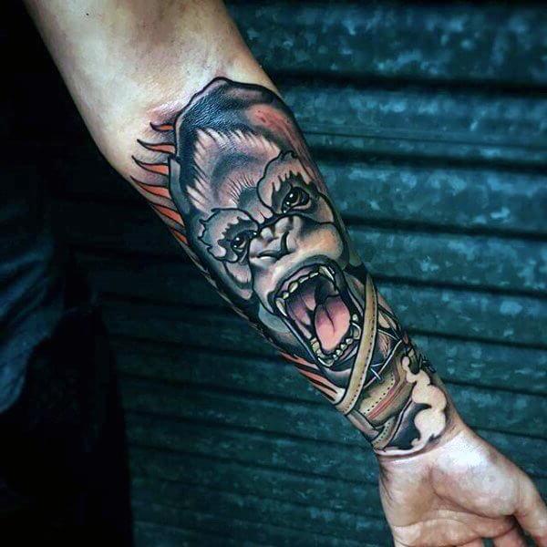 Tatuagem no Braço (+80 FOTOS) As Melhores Para Você Escolher 61