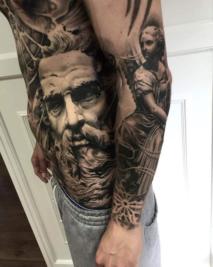 Tatuagem no Braço (+80 FOTOS) As Melhores Para Você Escolher 80