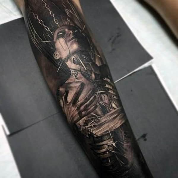 Tatuagem no Braço (+80 FOTOS) As Melhores Para Você Escolher 9