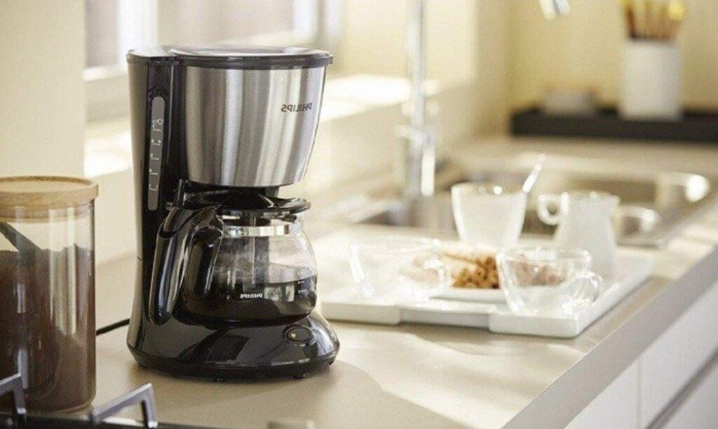Aprendendo como fazer café na cafeteira