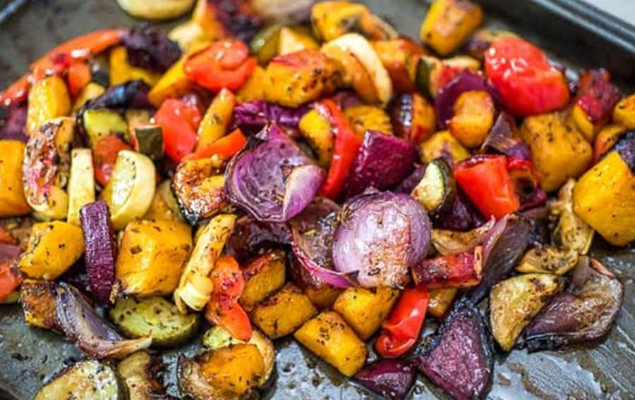 Legumes ao forno: receita de preguiçoso