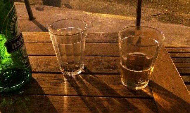 Quanto cabe em um copo americano?