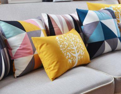 Almofadas para sala de estar