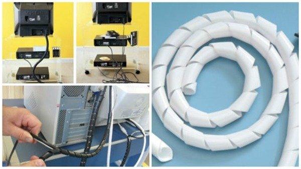 Espiral organizador de fios