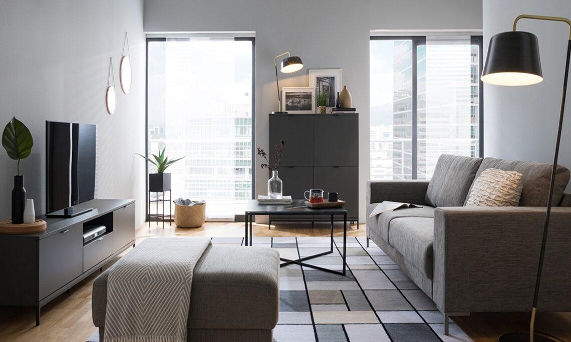 Saiba como arrumar os móveis tendo uma sala pequena