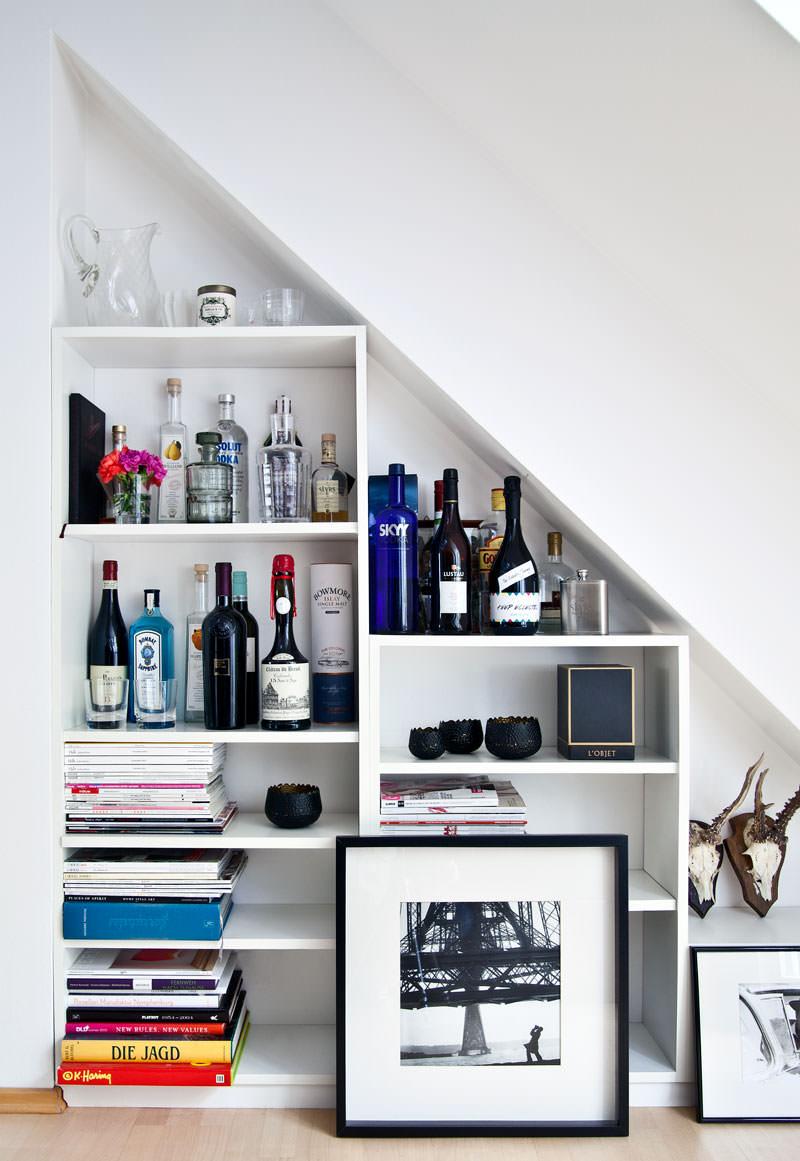 Muitas coisas no pequeno espaço