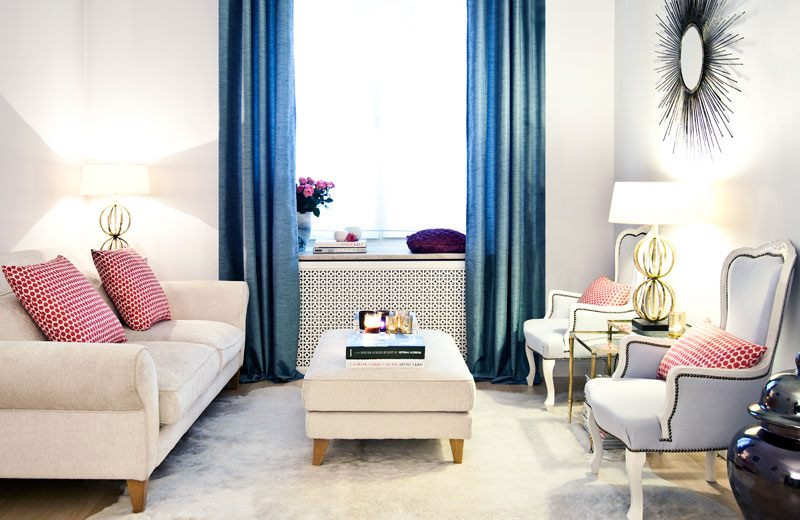 Sala pequena luxuosa