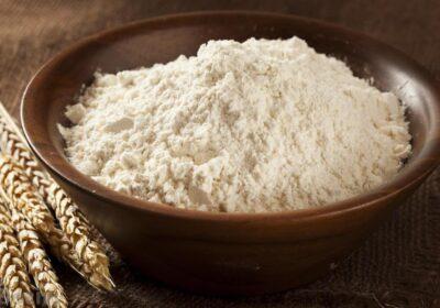Farinha de arroz feita em casa