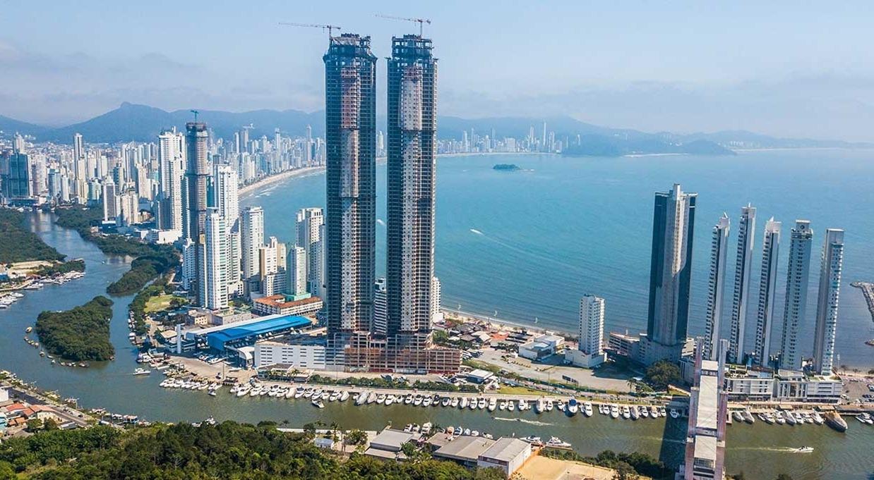 Prédio mais alto do Brasil - Yachthouse Residence Club