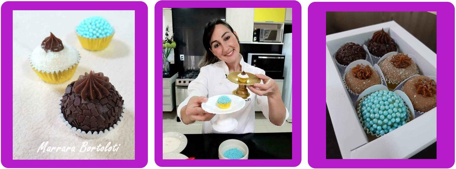 Vantagens do curso Brigadeiros Gourmet com Marrara Bortoloti
