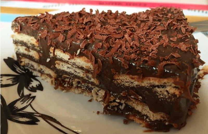 Pavê de chocolate divino 1