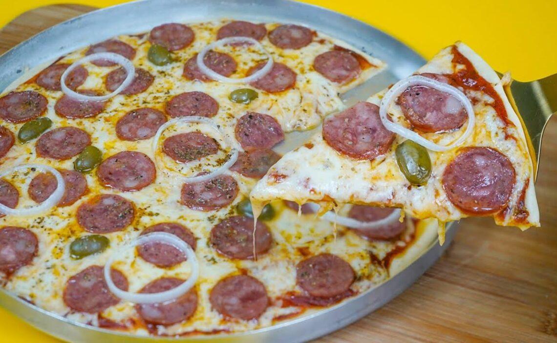 Pizza de liquidificador: Receita completa