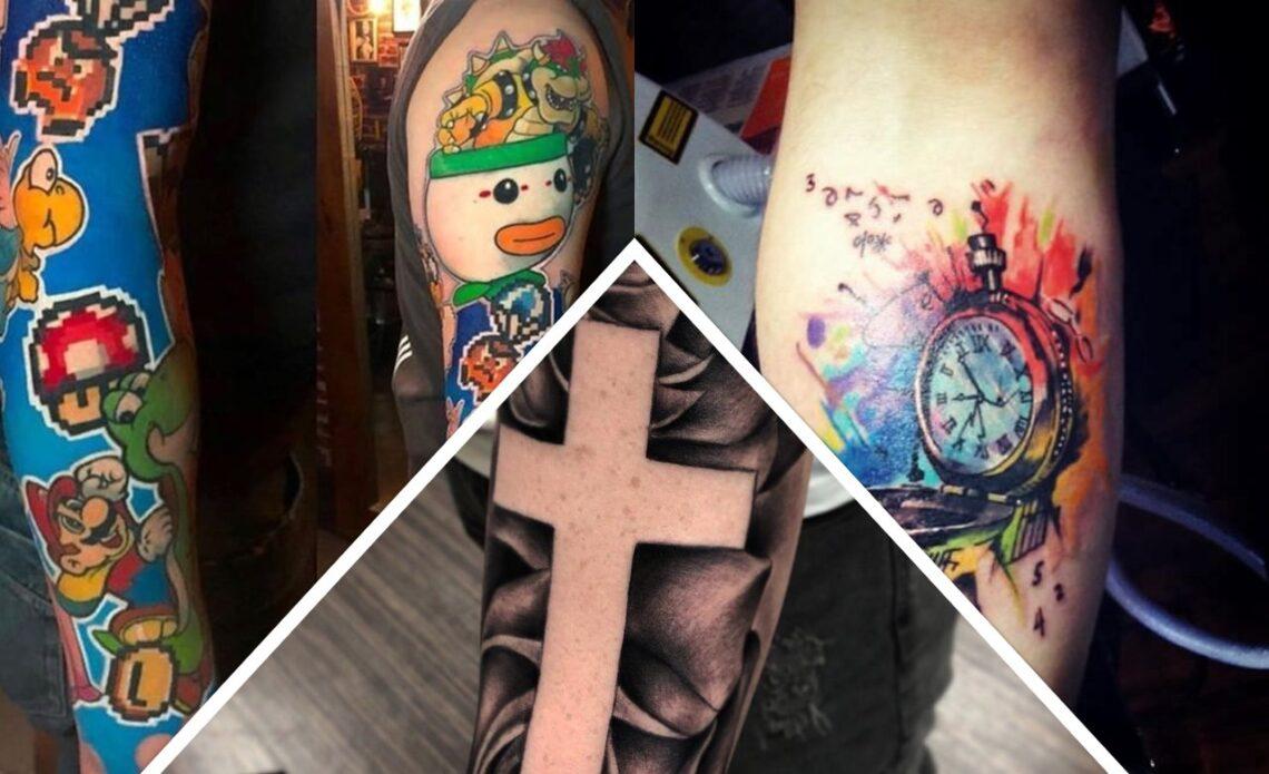 Tatuagens no braço: 160 tatuagens no braço legal para homens