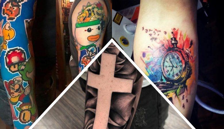 Tatuagens no braço para homens