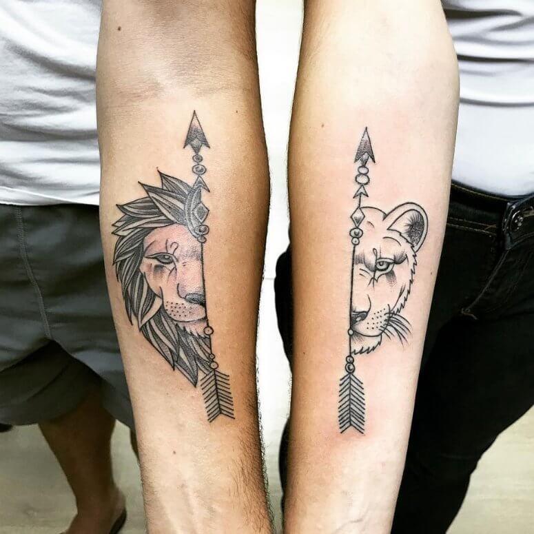 Tatuagens de casal 9