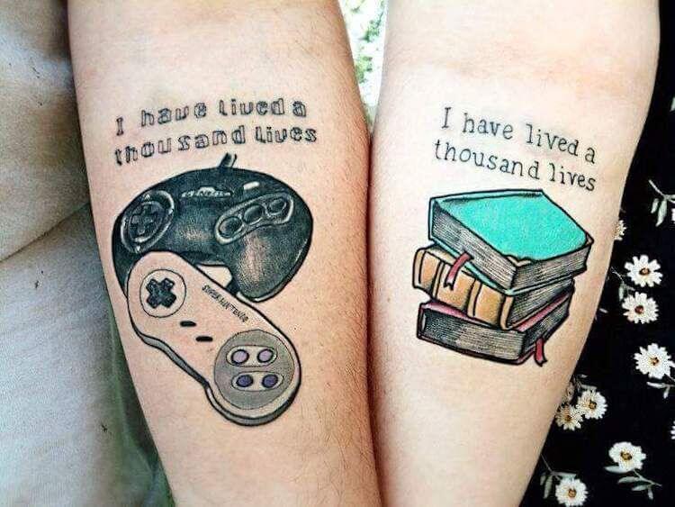 Tatuagens de casal 30
