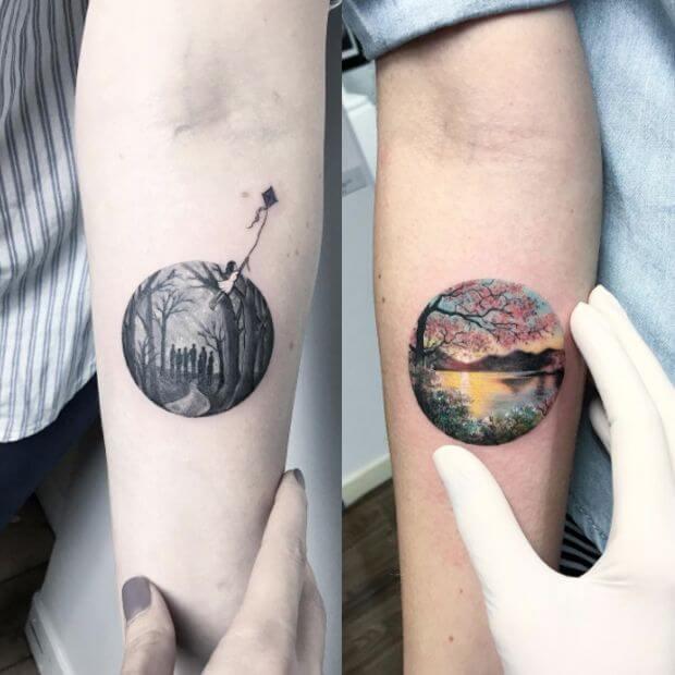 Tatuagens de casal 41