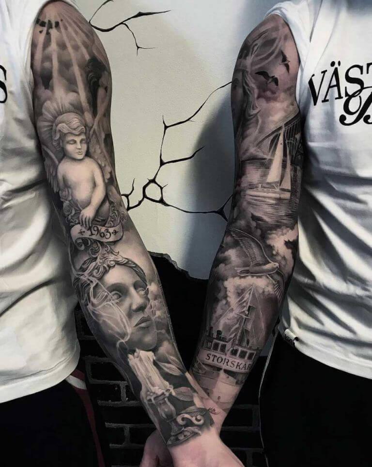 Tatuagens de casal 35