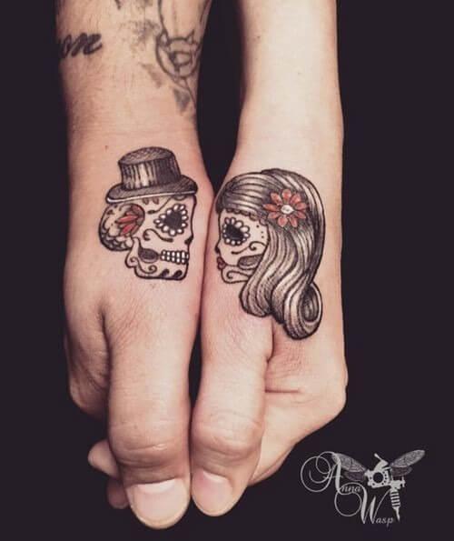 Tatuagens de casal 15