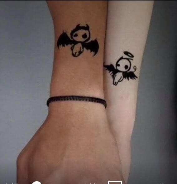 Tatuagens de casal 17