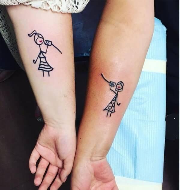 Tatuagens de casal 20