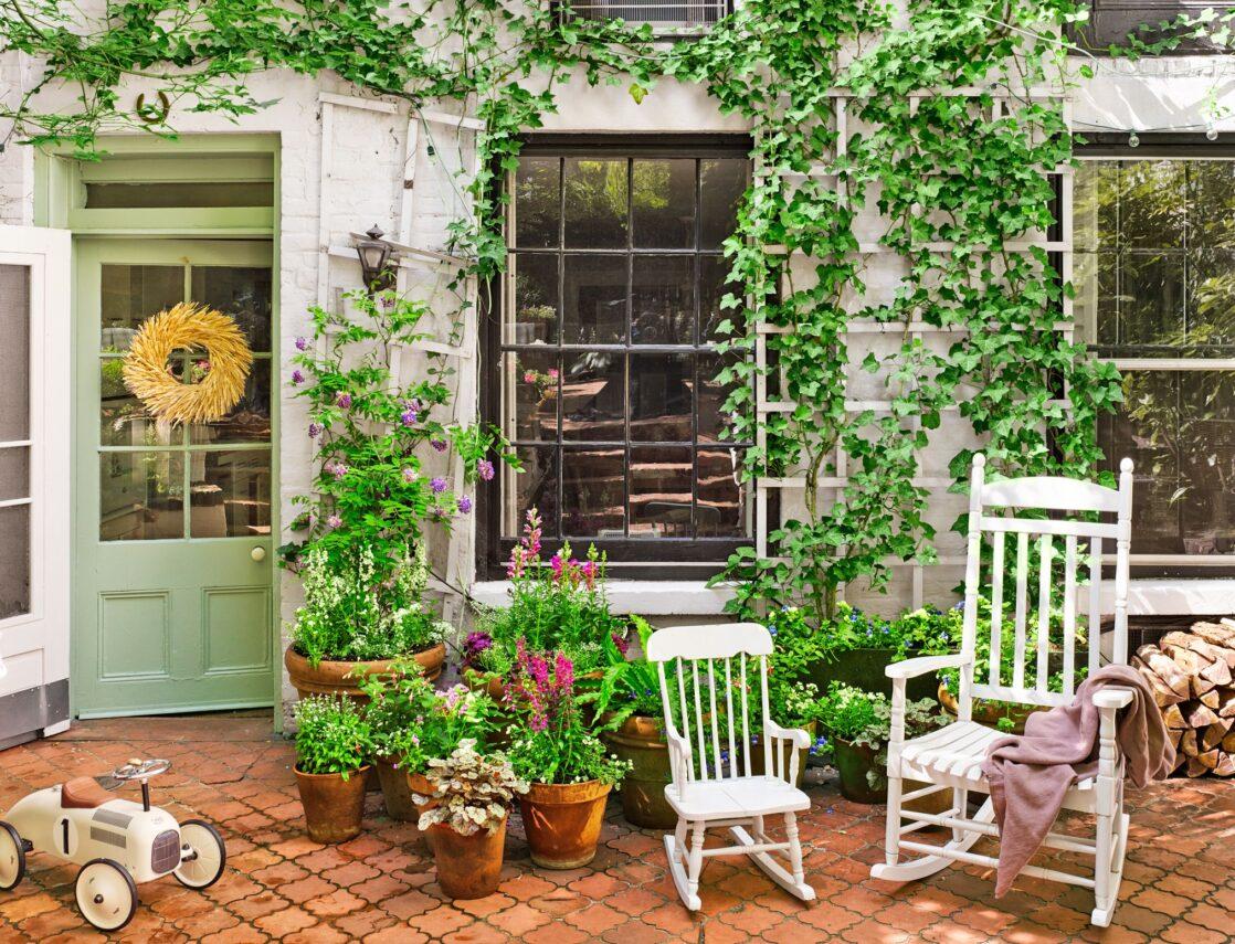 Fazer um jardim incrível em casa!