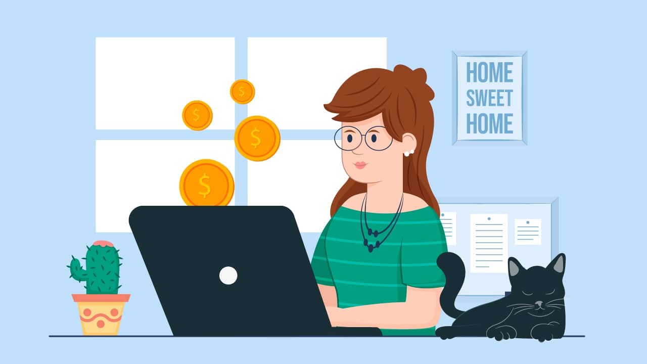 ganhar dinheiro em casa